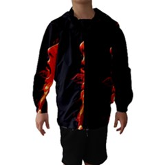 Robert And The Lion Hooded Wind Breaker (kids)