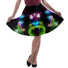 gift A-line Skater Skirt