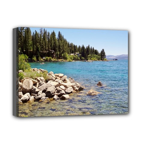 Nevada Lake Tahoe  Deluxe Canvas 16  x 12