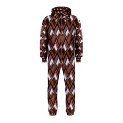 Metal Weave Pink Hooded Jumpsuit (Kids)