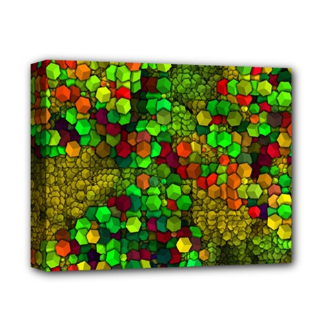 Artistic Cubes 01 Deluxe Canvas 14  x 11