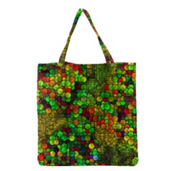 Artistic Cubes 01 Grocery Tote Bags