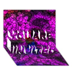 Artistic Cubes 2 YOU ARE INVITED 3D Greeting Card (7x5)