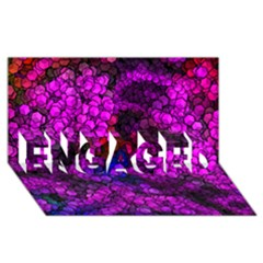 Artistic Cubes 2 ENGAGED 3D Greeting Card (8x4)