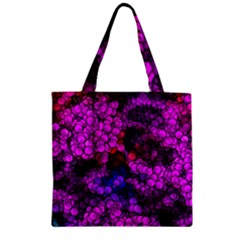Artistic Cubes 2 Zipper Grocery Tote Bags