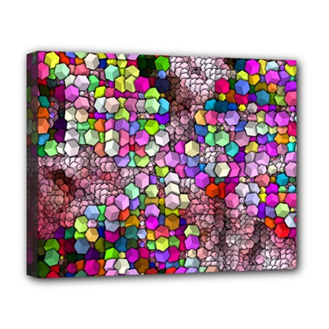 Artistic Cubes 3 Deluxe Canvas 20  x 16