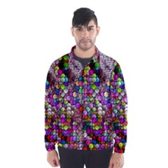 Artistic Cubes 3 Wind Breaker (Men)