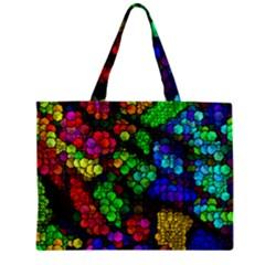 Artistic Cubes 4 Zipper Tiny Tote Bags