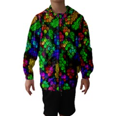 Artistic Cubes 4 Hooded Wind Breaker (kids)