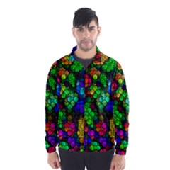 Artistic Cubes 4 Wind Breaker (Men)