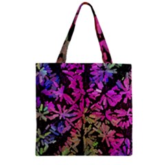 Artistic Cubes 5 Zipper Grocery Tote Bags