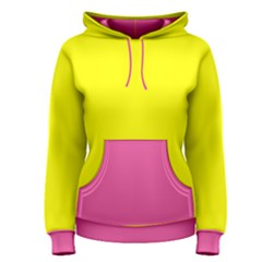 Yellow Pink Women s Pullover Hoodie