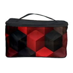 Artistic Cubes 7 Red Black Cosmetic Storage Cases