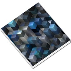 Artistic Cubes 9 Blue Small Memo Pads