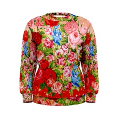 Pretty Sparkly Roses Women s Sweatshirts
