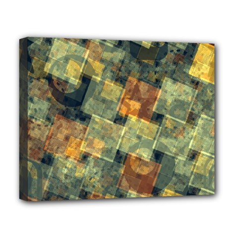 Stars circles and squares Deluxe Canvas 20  x 16  (Stretched)