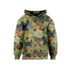 Stars circles and squares Kid s Pullover Hoodie