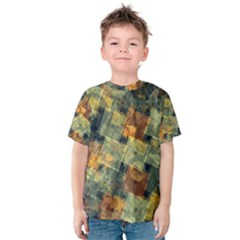 Stars circles and squares Kid s Cotton Tee