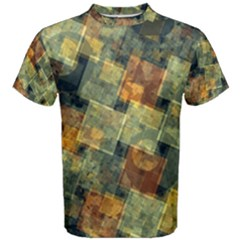 Stars Circles And Squares Men s Cotton Tee