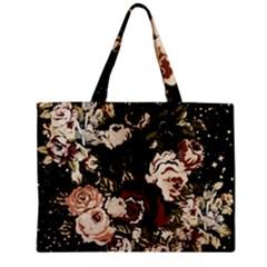 Dark Roses Zipper Tiny Tote Bags