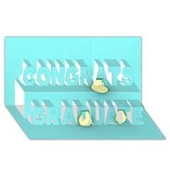 Bright Ideas Congrats Graduate 3D Greeting Card (8x4)