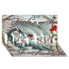 Lady Of The Fores Sts Best Bro 3d Greeting Card (8x4)