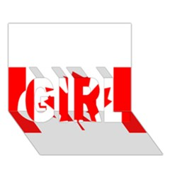 Style 1 GIRL 3D Greeting Card (7x5)