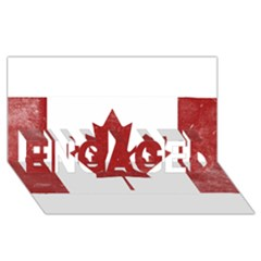 Style 3 ENGAGED 3D Greeting Card (8x4)