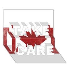 Style 3 Take Care 3d Greeting Card (7x5)