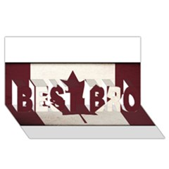 Style 4 Best Bro 3d Greeting Card (8x4)