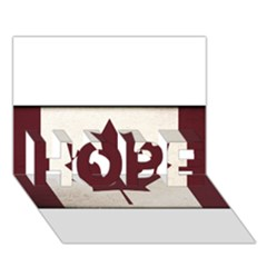 Style 4 HOPE 3D Greeting Card (7x5)