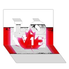 Style 5 Love 3d Greeting Card (7x5)