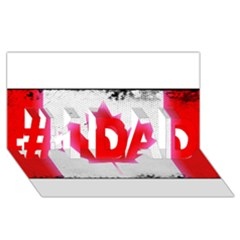 Style 5 #1 DAD 3D Greeting Card (8x4)