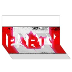 Style 5 PARTY 3D Greeting Card (8x4)
