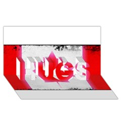 Style 5 HUGS 3D Greeting Card (8x4)