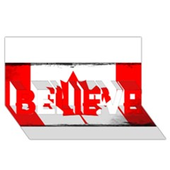 Style 6 BELIEVE 3D Greeting Card (8x4)