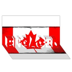 Style 6 ENGAGED 3D Greeting Card (8x4)