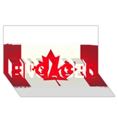 Style 7 ENGAGED 3D Greeting Card (8x4)