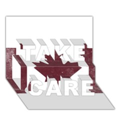 Style 8 TAKE CARE 3D Greeting Card (7x5)