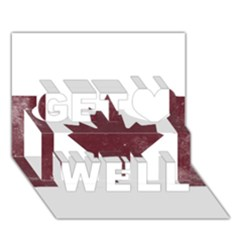 Style 8 Get Well 3D Greeting Card (7x5)