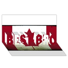 Style 9 BEST BRO 3D Greeting Card (8x4)