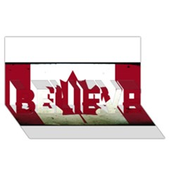 Style 9 BELIEVE 3D Greeting Card (8x4)