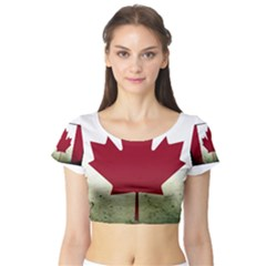 Style 9 Short Sleeve Crop Top