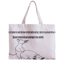 Better To Take Time To Think Zipper Tiny Tote Bags