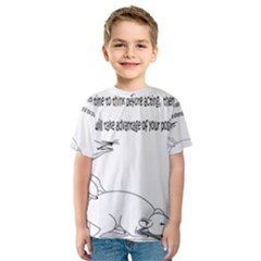 Better To Take Time To Think Kid s Sport Mesh Tees