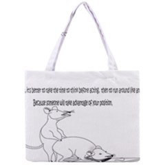 Better To Take Time To Think Tiny Tote Bags