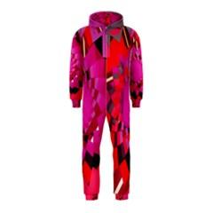 Geo Fun 11 Hooded Jumpsuit (kids)