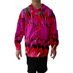 Geo Fun 11 Hooded Wind Breaker (Kids)