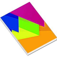 Geo Fun 15 Large Memo Pads