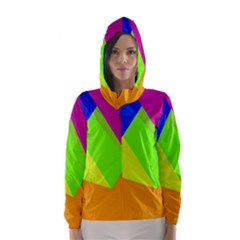 Geo Fun 15 Hooded Wind Breaker (women)
